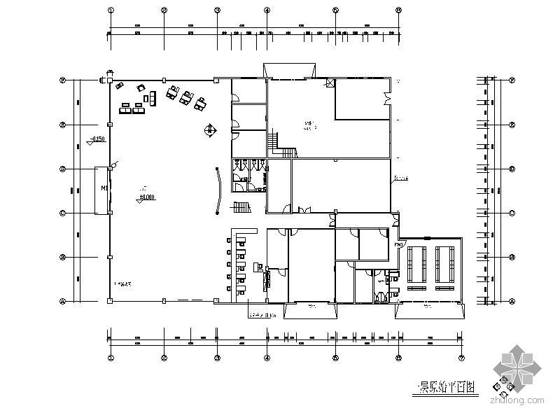 [浙江]某品牌汽车4s店装饰设计图